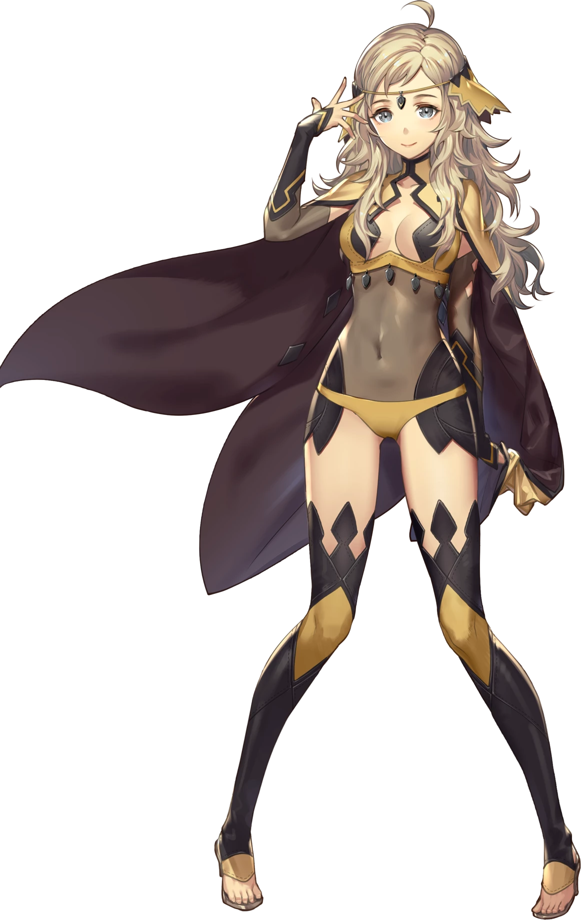 Ophelia as she appears in Fire Emblem Heroes.