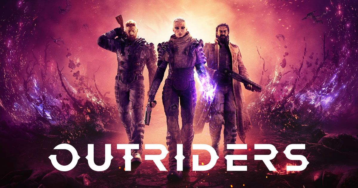 Outriders cover art.